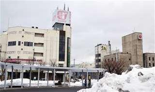 再開発が検討されているJR横手駅東口周辺