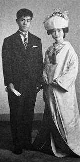 昭和38年10月、23歳で妻勝美と結婚