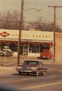 アメリカで住むことになったノースカロライナ州チェリービルの町並み