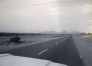 延々と続くアメリカのフリーウエー(高速道)=昭和44年
