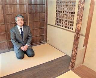 小さい空間ながら、数寄屋建築の粋を集めた草庵茶室。「これほどの茶室が秋田に残っていたことに驚く」(澤田さん)