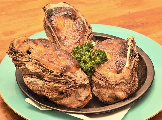 菜酎鈴の「カキのマヨネーズ焼き」