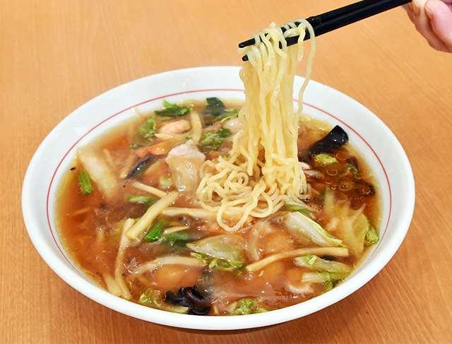 店で1番人気の広東麺