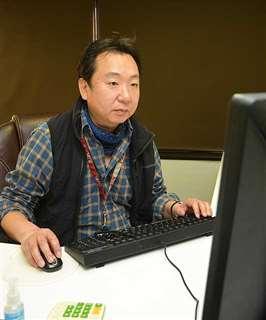 自身のブログに祝辞の文章を公開した秋田高PTA会長の長谷川さん