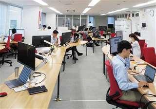 2017年、秋田市に設立されたジェイテクトIT開発センター秋田