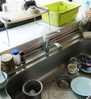 排水口の掃除、洗剤や調味料の減りの確認、補充…。数々の「名もなき家事」を誰かが担っている(写真と本文は関係ありません)