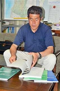 花岡事件を取り上げた授業を振り返る秋田大の外池教授