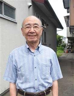 秋田市竿燈会顧問の小寺さん