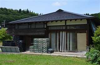 入園者の急増に対処するため、泊まり込んだダリア園管理棟=秋田市雄和