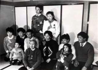 平成3年に能代市に永住帰国した中国残留孤児の一家