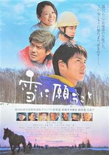 「雪に願うこと」のポスター