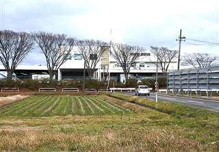 複合商業施設の出店構想がある外旭川地区。奥に見える市卸売市場は再整備が検討されている