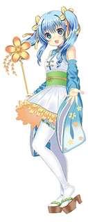 東由利地域のご当地キャラクター「黄桜すい」