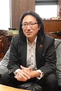 観光や海外進出企業への支援を訴える八木橋さん