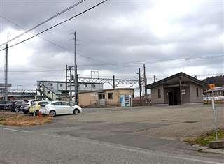 現在のJR奥羽線四ツ小屋駅付近。雄和から追ってきた父に呼び止められた