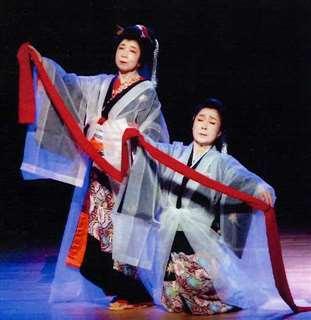 県芸術選奨を頂いた「平成近松恋物語」の一場面