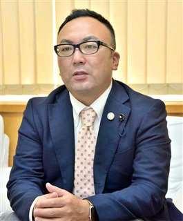 立憲民主党県連・小原正晃代表代行